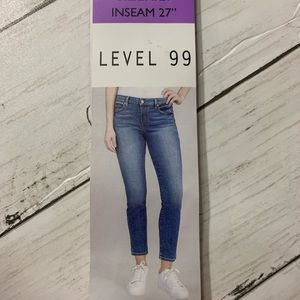 Level 99 High Rise Skinny Jeans Sz. 4